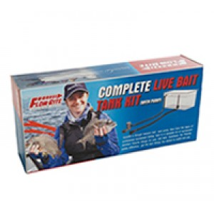 Flow-rite live bait tank kit including Johnson pump