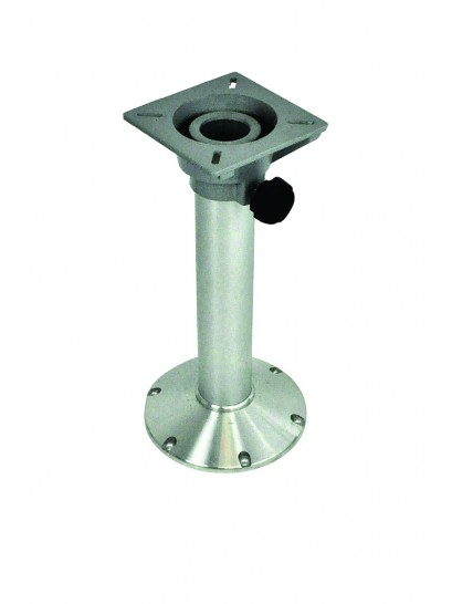 SEAT PEDESTAL 450MM FIXED HEIGHT ALLOY BASE  WITH ALLOY SEAT BASE