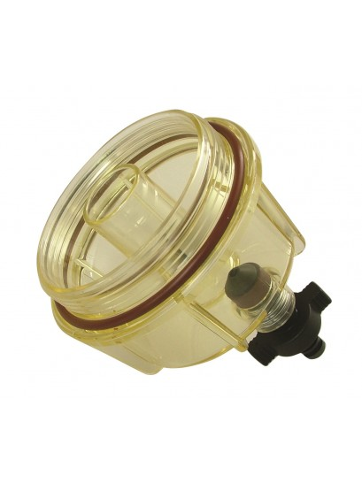 FUEL FILTER BOWL CLEAR WITH VITON SEAL - USE WITH 3293
