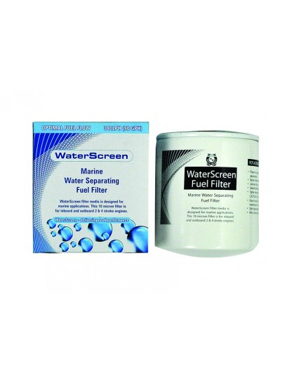 WATERSCREEN SPIN ON FILTER TO SUIT OMC / SIERRA S18-7946 & OMC 502905