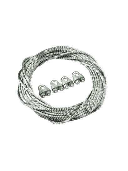 BRAKE CABLE KIT (10 METRE CABLE + 4 GRIP