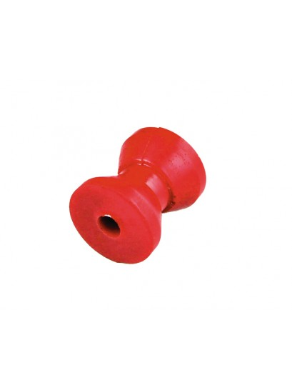 "BOW ROLLER 2"" RED"
