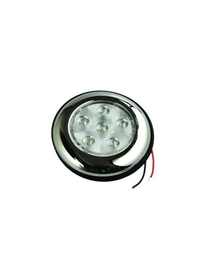 LED INTERIOR LIGHT RECESSED MOUNT WHITE/