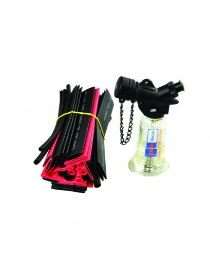 MICRO GAS TORCH WITH 40 PIECE HEAT SHRINK KIT