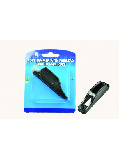 ROPE JAMMER NYLON BLACK SMALL 3-6MM WITH