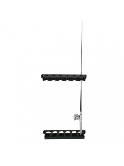 ROD STORAGE HOLDER - 6 ROD - VERTICAL