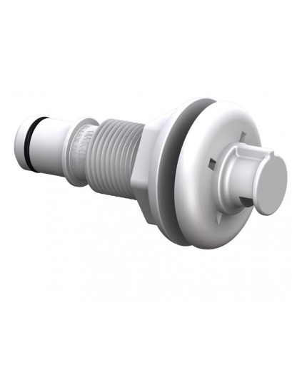 Spray Head Thru-Hull - Straight 19mm