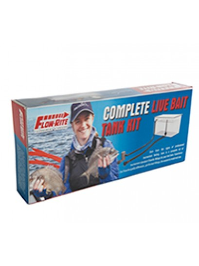Flow-rite live bait tank kit excluding pump