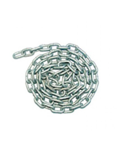 Galvanized 8mm Chain - 2M Lengths