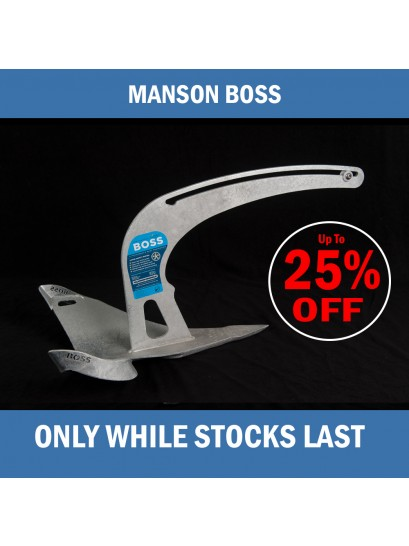 Manson Boss Anchors - Discount Sale  2.3-11 KGs