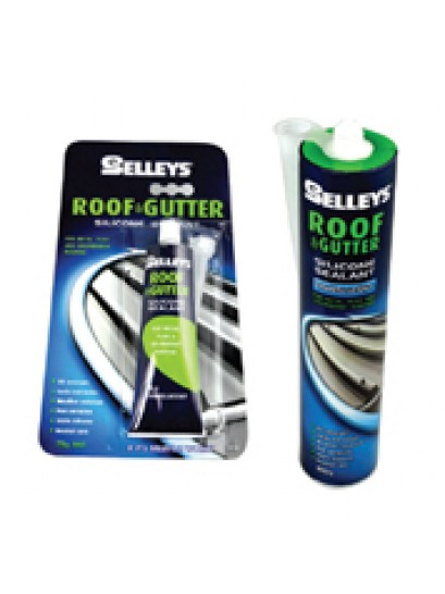 ROOF & GUTTER SILICONE SEALANT 75G