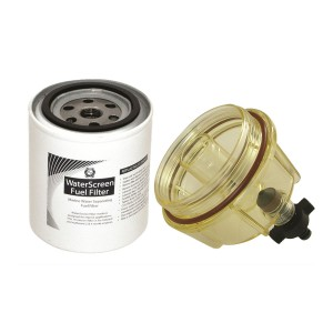 WATERSCREEN FILTER ELEMENT 10 MIC.  With Bowl