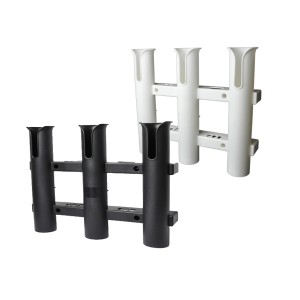 Triple Rod Holder Rack White - With tool storage