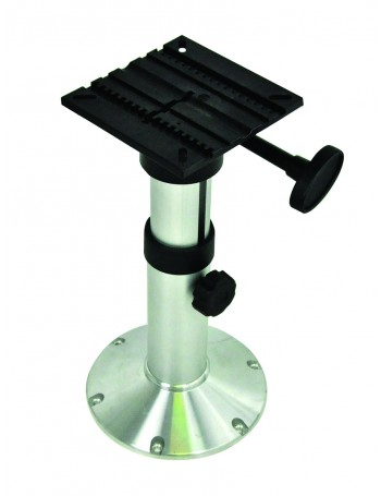 SEAT PEDESTAL 480-633MM ADJUSTABLE ALLOY BASE