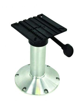 SEAT PEDESTAL 600MM FIXED HEIGHT ALLOY BASE