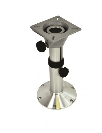 SEAT PEDESTAL 340-510MM ADJUSTABLE ALLOY BASE