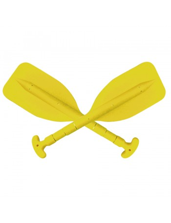 PAIR MINI TELESCOPIC PADDLE YELLOW