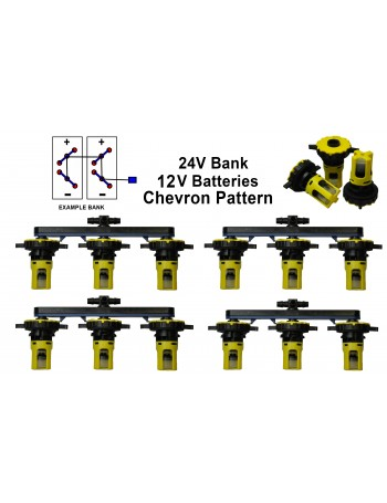 12v Battery Watering Kit - 24v Banks 2.7