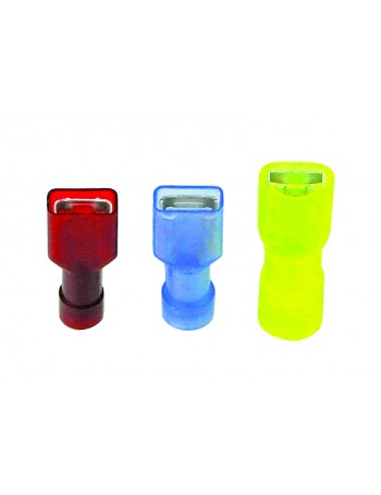 TERMINALS SPADE FULLY INSULATED FEMALE RETAIL PACKS