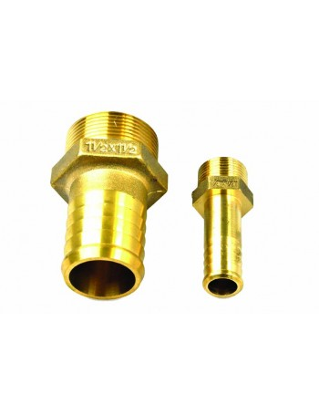Hose Tails - Bronze - Male Thread