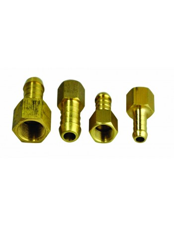 BRASS HOSE TAILS FEMALE THREAD