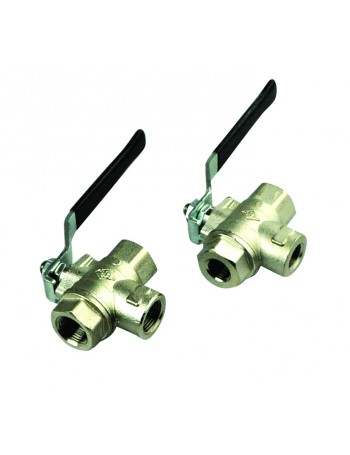 BRASS BALL VALVES 3 WAY