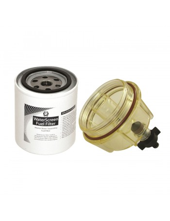 Fuel Filter with Water Separator - Replaces Racor: S3214, Sierra: S18-7920, Mercury: 35-8090099, OMC/BRP: 771839