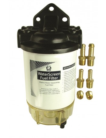 WATERSCREEN REMOVABLE BOWL FUEL FILTER KIT