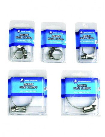 HOSE CLAMPS STAINLESS STEEL HANDY PACKS