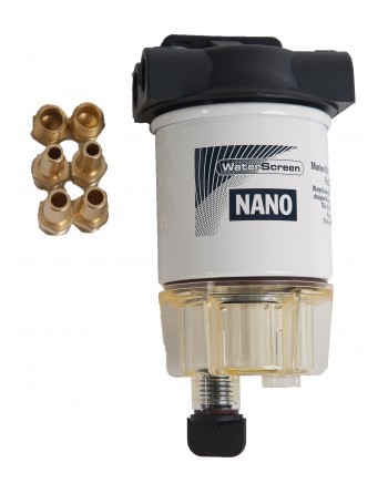 WATERSCREEN FUEL FILTER ASSY NANO WITH BOWL