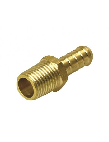 BRASS HOSE TAILS MALE NPT THREAD