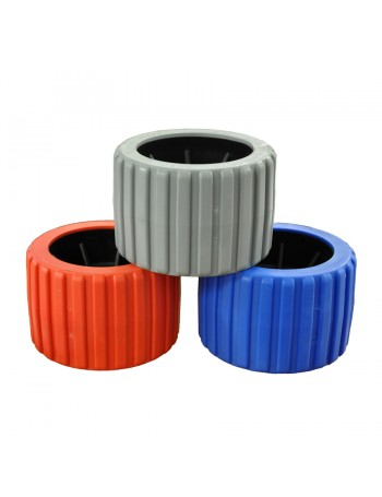 WOBBLE ROLLERS RIBBED