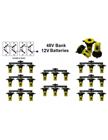 12v Battery Watering Kit - 48v Banks  2.7