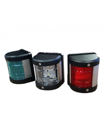 LED NAVIGATION SIDE LIGHTS with Stern Light