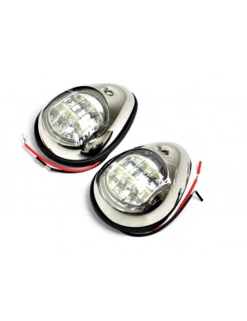 LED Navigation Side Lights Chrome