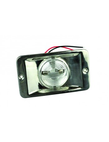 STERN LIGHT FLUSH 12V 10W WHITE