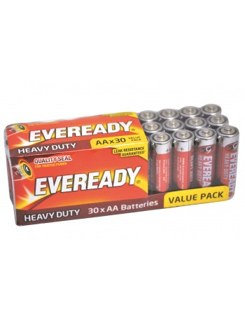 EVEREADY HEAVY DUTY AA 30 PACK