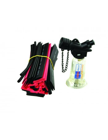 MICRO GAS TORCH WITH 40PCE HEAT SHRINK KIT