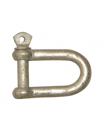 GALVANISED D SHACKLES - PAIRS