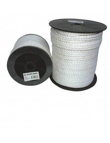SILVER ROPE SPOOLS