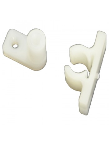 UV Resistant NYLON Offset 90° Clips