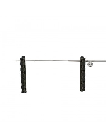ROD STORAGE HOLDER - 6 ROD - HORIZONTAL