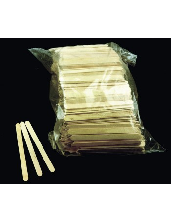 WOODEN STIRRERS - ICY POLE STICKS - 1000 PACK