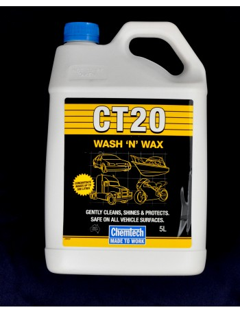 CT20 WASH & WAX 5L