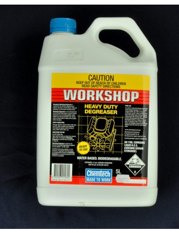 WORKSHOP DEGREASER 5L