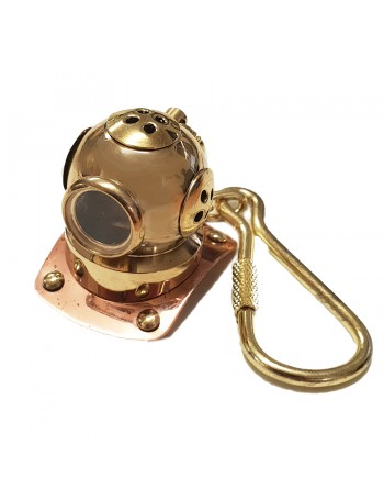 KEY CHAIN DIVER HELMET