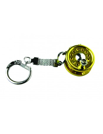 KEY RING FLY REEL