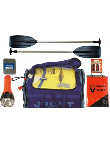 Premium Boat Safety Compliance Kit Self Contained Duffel Bag Package