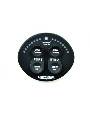 """""""OVAL"""" TRIM TAB CONTROL WITH POS. IND"""