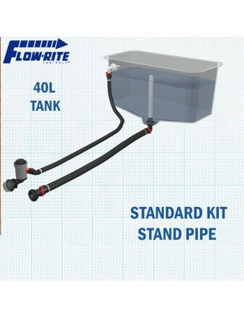 FLOW-RITE LIVEWELL 40LTR TANK - STANDPIPE VERSION